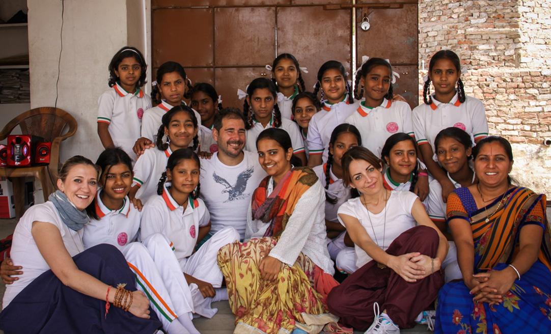 sognavo di tornare in india