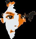 India con volto di bambino