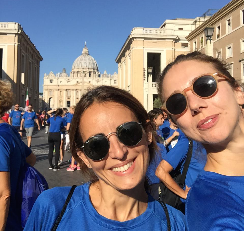 Running for Peace con Rome Half Marathon Via Pacis