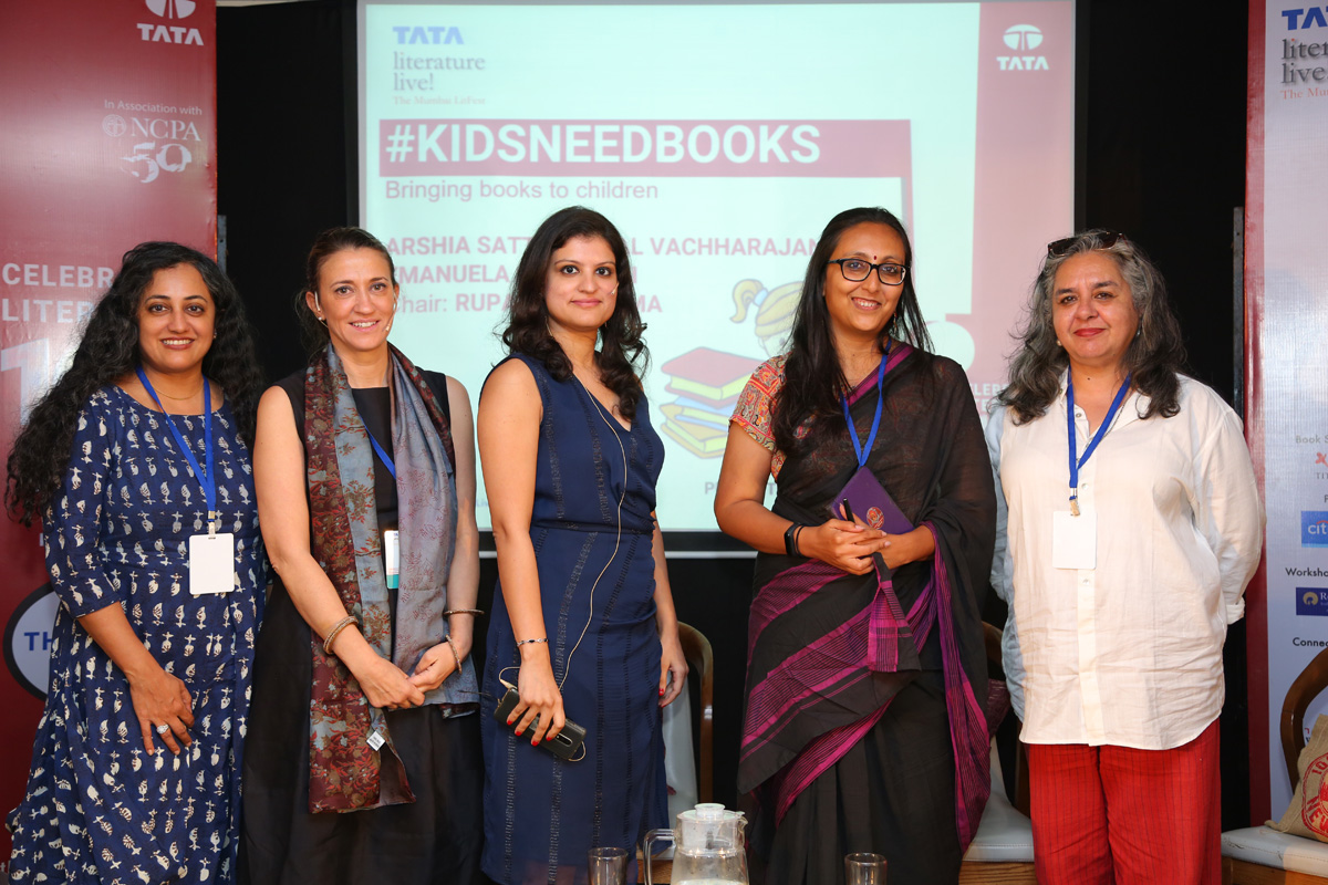 Children's India - illustrated tales in #kidsneedbooks - At Tata Literature Live! 2019
